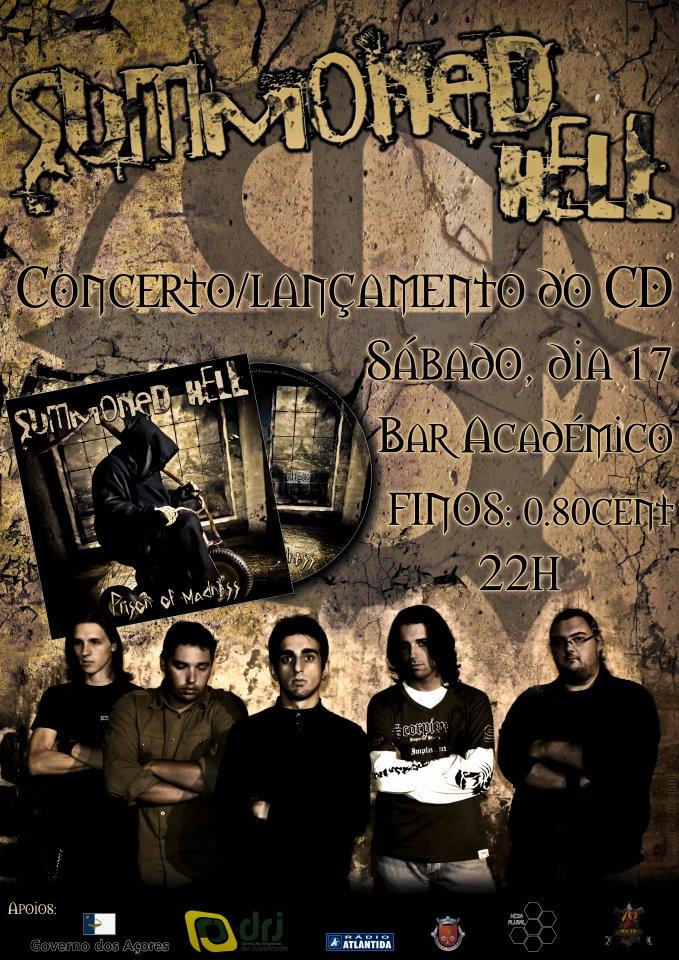Summoned Hell - Concerto / Lançamento CD