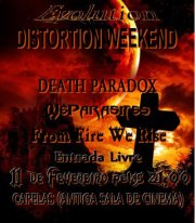 Evolution Distortion Weekend
